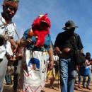 Indígenas Guarani e Kaiowá em Dourados (MS). Foto: Egon Heck/Cimi