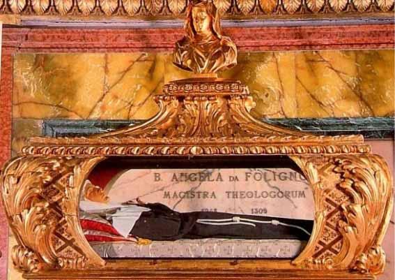 Beata Angela de Foligno urna