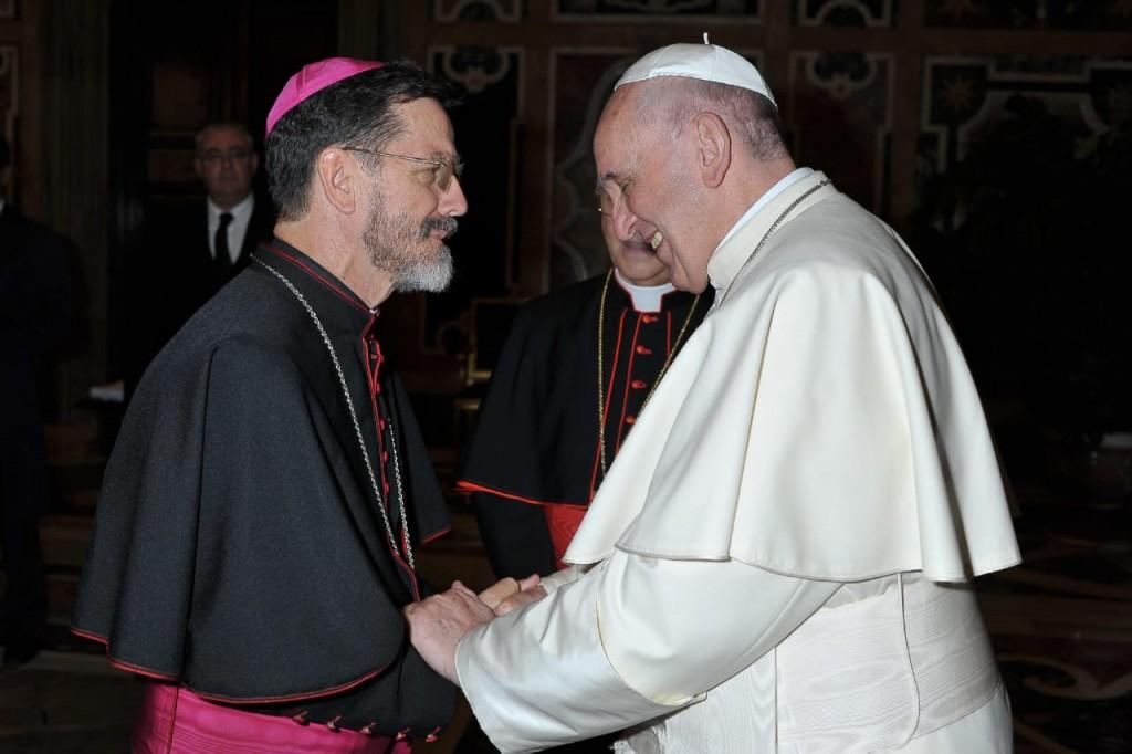 Dom-Luís-Fernando-com-o-Papa-Francisco