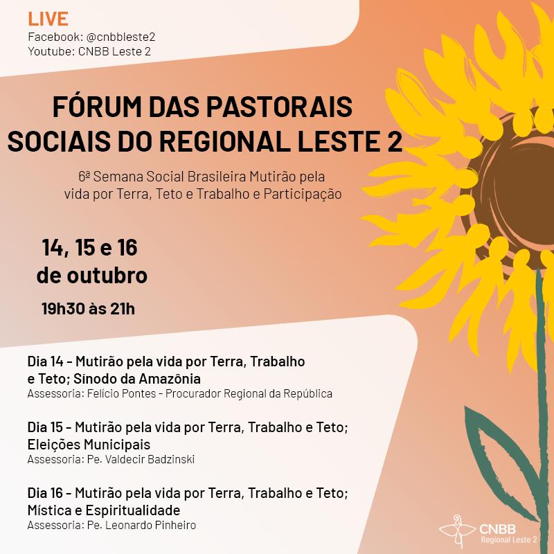 Forum Pastorais Sociais 2020