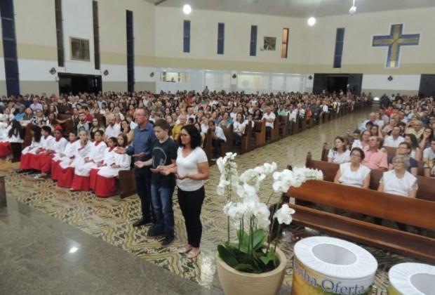 Fotos: Pe. Valdecir Badzinski e Odaril José da Rosa