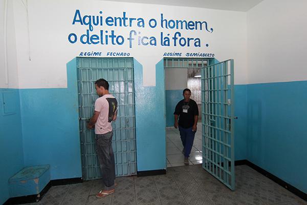APAC Associação de proteção e assistência ao condenado em Itaúna, MG. Foto: Alex de Jesus/O Tempo 27/09/2013