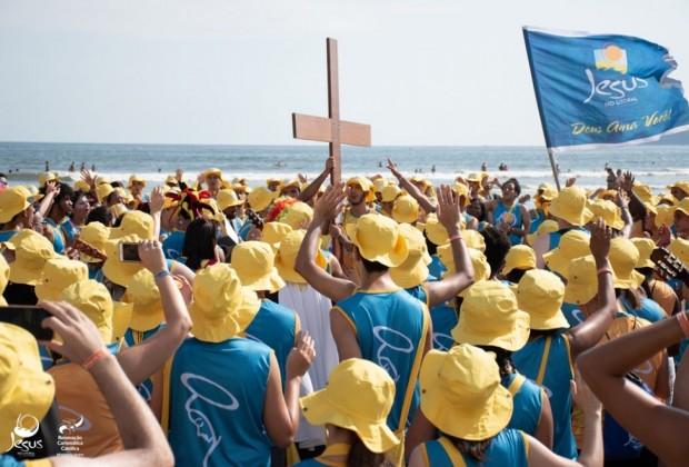 Missão Jesus no Litoral (JNL), Diocese de São José dos Campos. Foto: Ministério Comunicação Social da RCC do Regional Sul 1