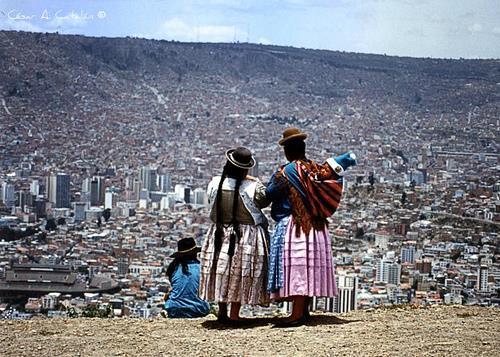 mulheres bolivianas