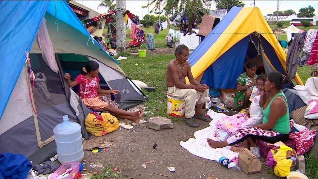 Imigrantes venezuelanos em Manaus, AM.