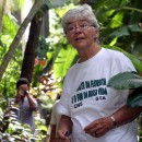 Dorothy Stang, a 74-year-old American nun, was shot to death early February 12, 2005 in Brazil's Amazon rain forest where she worked to defend human rights and the environment despite frequent death threats, federal police said. Unknown assailants shot U.S. missionary, Dorothy Stang at point-blank range at an isolated agricultural settlement in dense jungle 31 miles from the town of Anapu in the state of Para, police and fellow religious workers said. A February 12, 2004 file photo shows Missionary sister Dorothy Stang in Belem, northern Brazil.   (BRAZIL OUT)   REUTERS/Imapress/AE/Carlos Silva