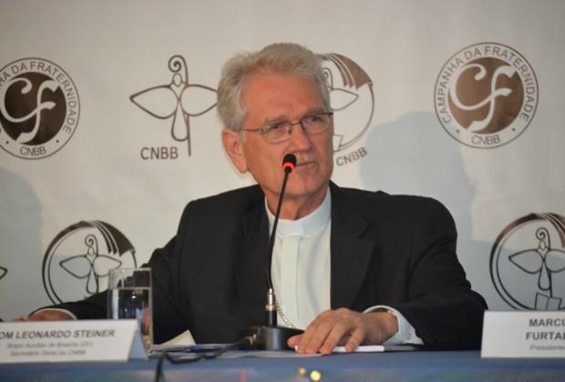 Leonardo Ulrich Steiner - Secretário da CNBB - Abertura da CF 2105