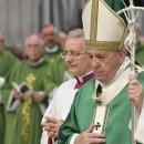 Missa celebrada na manhã deste domingo (06/10) na Basílica de São Pedro. (Foto: Vatican News)