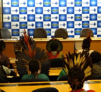 Povos indígenas aguardam um plano nunca apresentado pela Sesai ou Ministério da Justiça. O resultado tem sido catastrófico em muitas regiões. Crédito da foto: Laila Menezes/Cimi.